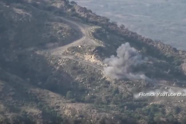 Video khi lính Arab Saudi sa vào nơi hiểm địa ở Yemen