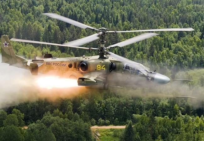 Trực thăng Ka-52 của Nga được mệnh danh là Cá sấu, và được cho hơn hẳn loại AH-64 Apache của Mỹ