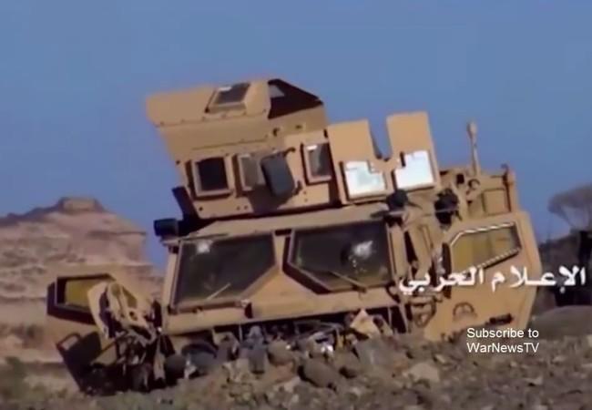 """Video """"đặc công"""" Huthis dọn sạch """"lính cậu"""" Arab Saudi khỏi Al-Rabiah"""