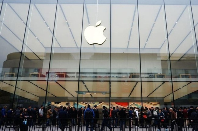 """Apple lần đầu tiên có doanh thu sụt giảm, chấm dứt """"chuỗi trận bất bại""""."""