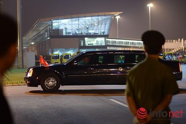 Đúng 21h30' hôm qua (22/5), chiếc máy bay Air Force One chở Tổng thống Hoa Kỳ Obama bắt đầu cho chuyến thăm tại Việt Nam.
