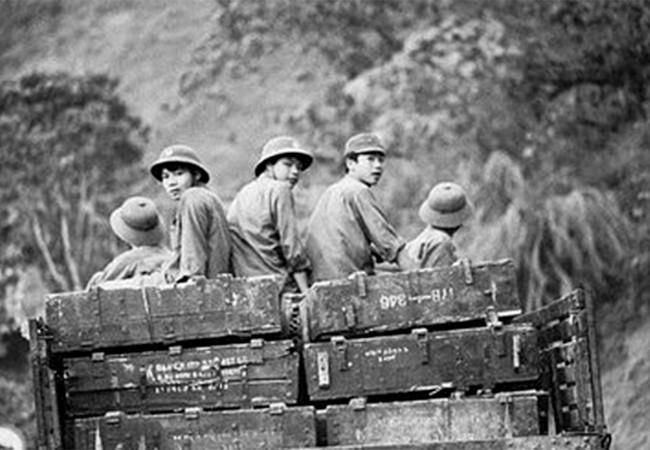 Bộ đội Việt Nam tại khu vực biên giới năm 1975