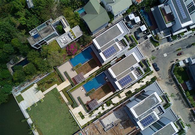 Một phần dự án Thảo Điền Sapphire nhìn từ trên cao. Nguồn Internet