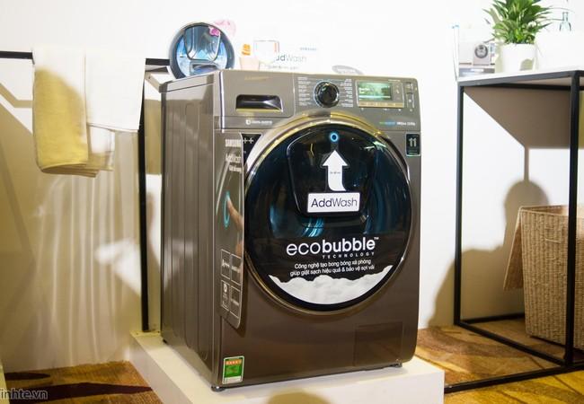Một mẫu máy giặt của Samsung
