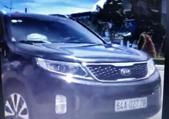 Chiếc xe bị CSGT cho rằng chạy quá tốc độ cho phép