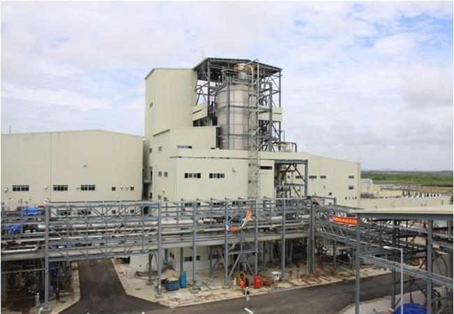 Một góc nhà máy xơ sợi Đình Vũ của PVTex. Nguồn ảnh: PVTex