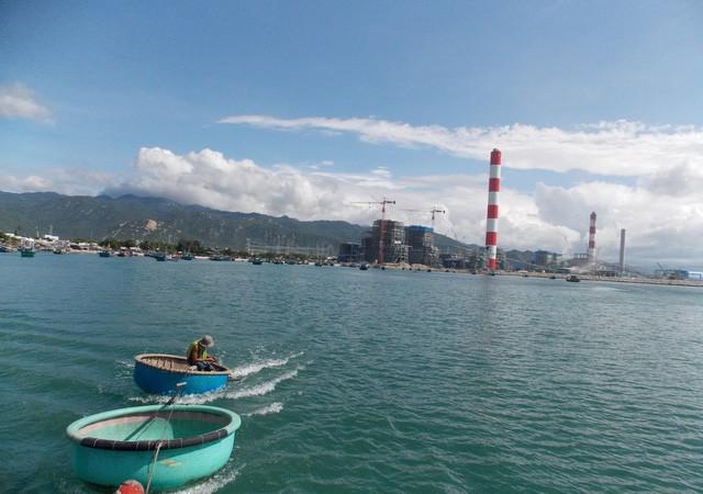 Nhà máy nhiệt điện Vĩnh Tân. Ảnh Dân trí
