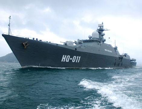 Chiến hạm Gepard 3.9 của Hải quân Việt Nam (ảnh minh hoạ)