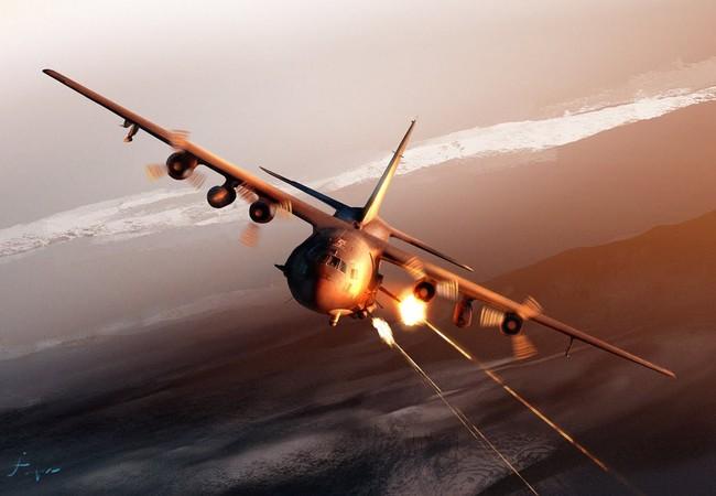 AC-130U Spooky.