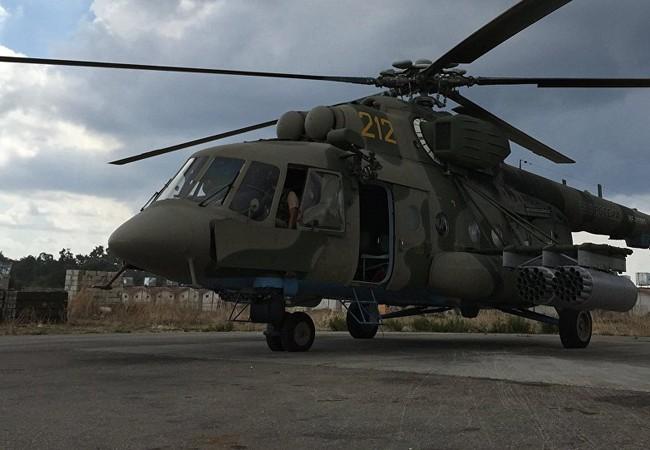 Khủng bố IS bắn vào trực thăng chở viện trợ của Nga ở Syria (ảnh minh họa: Sputnik)