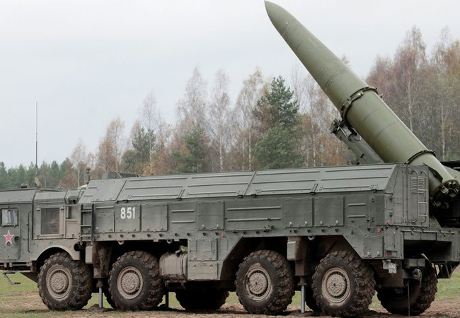 Tên lửa Iskander M (ảnh minh họa)