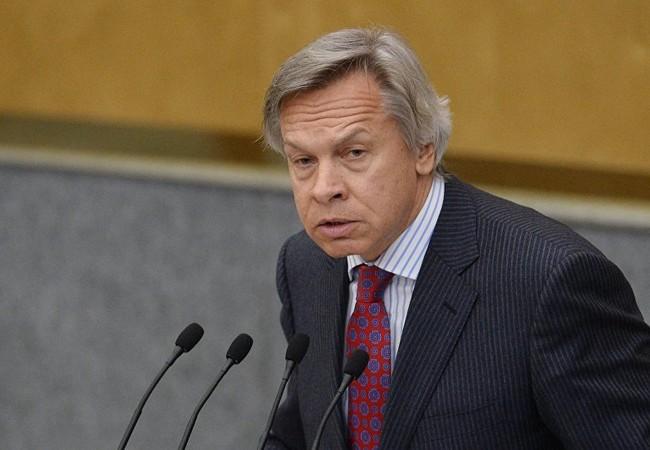 Thượng nghị sĩ Nga Alexei Pushkov.
