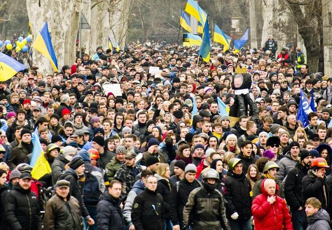 Ukraine lo sợ công dân chạy sang Nga sau khi áp dụng chế độ thị thực. (ảnh minh họa)