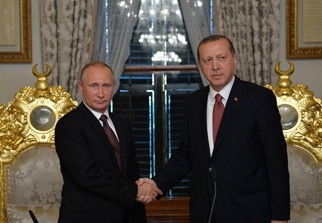 Lãnh đạo Nga - Thổ Nhĩ Kỳ.