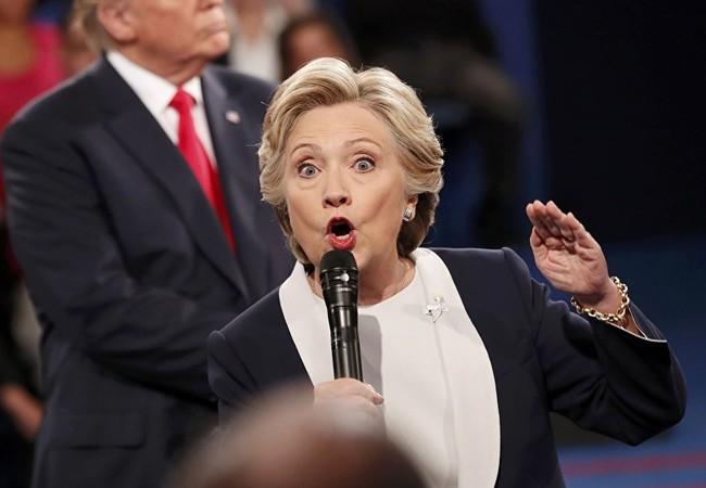Hillary Clinton được khuyên nên chỉ trích các hành động của Nga tại Syria (ảnh Sputnik).