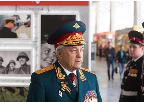 Thứ trưởng Bộ Quốc phòng Nga Nikolai Pankov.