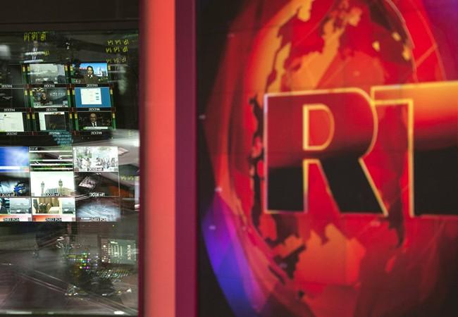 Tài khoản ngân hàng của kênh truyền hình Nga RT ở Anh bị đóng (ảnh minh họa)