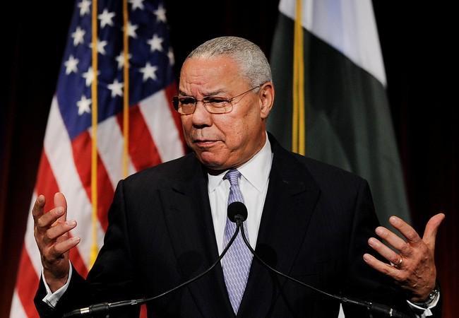 Cựu Ngoại trưởng Mỹ Colin Powell.