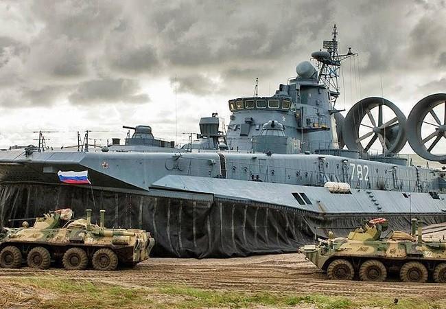 Sức mạnh Hải quân Nga.