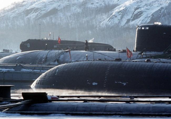 Tàu ngầm hạt nhân Nga (ảnh minh họa)