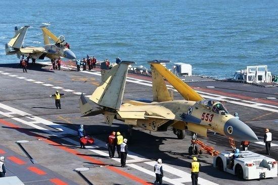 Nhật, Đài đang theo dõi chặt chẽ tàu sân bay Liêu Ninh của Trung Quốc (ảnh minh họa)