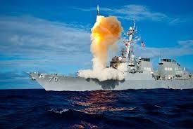 Tàu chiến có khả năng đánh chặn tên lửa đạn đạo của Hải quân Mỹ (ảnh minh họa)