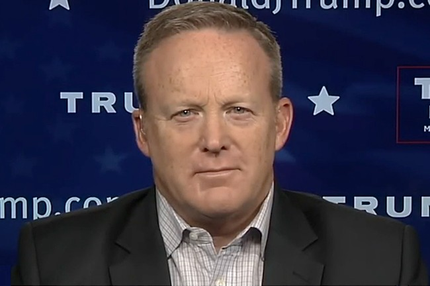 Sean Spicer - Thư ký tương lai của Nhà Trắng.