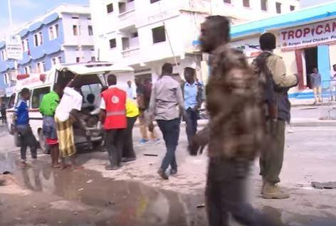Tấn công khủng bố trong khách sạn hạng sang ở Somalia, 12 người chết