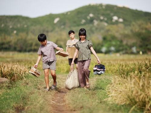 Cảnh trong phim Tôi thấy hoa vàng trên cỏ xanh - Ảnh: Đoàn phim cung cấp