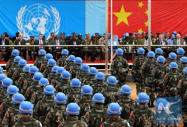 Lính Trung Quốc làm nhiệm vụ ở Nam Sudan