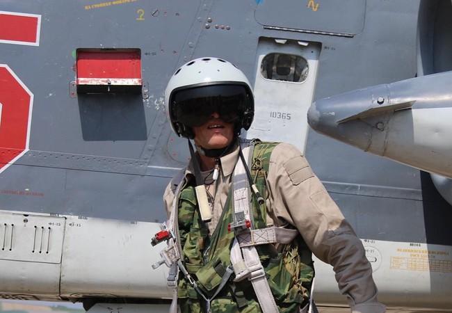 Phi công Nga tham chiến tại chiến trường Syria
