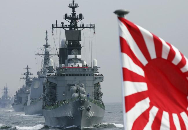 Dàn chiến hạm hùng mạnh của hải quân Nhật Bản