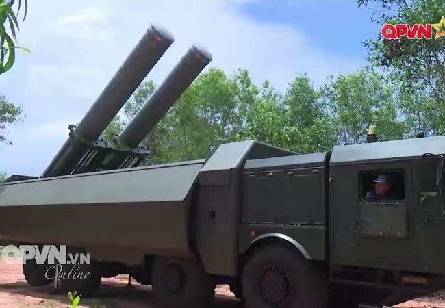 Khẩu đội tên lửa bảo vệ bờ biển Bastion - P của Việt Nam