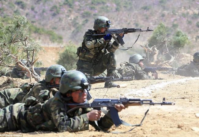 Binh sĩ Triều Tiên trong cuộc trận mới đây