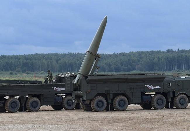 Nga đã triển khai hệ thống tên lửa đạn đạo chiến thuật Iskander tại vùng lãnh thổ Kaliningrad