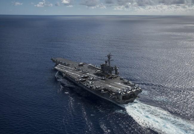 Tàu sân bay USS Carl Vinson của Mỹ từng tuần tra ở Biển Đông