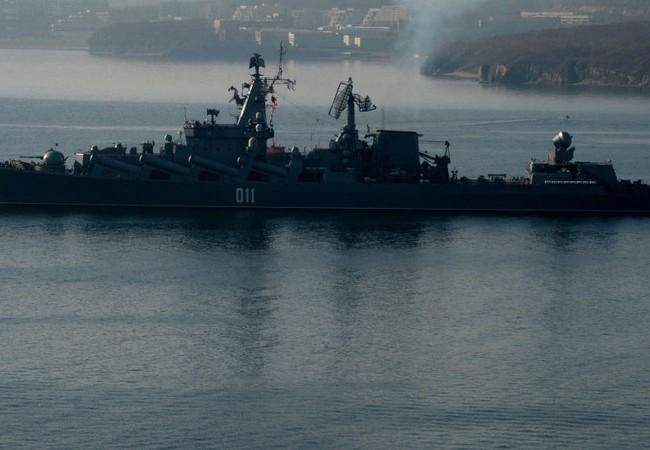 Chiến hạm hải quân Nga