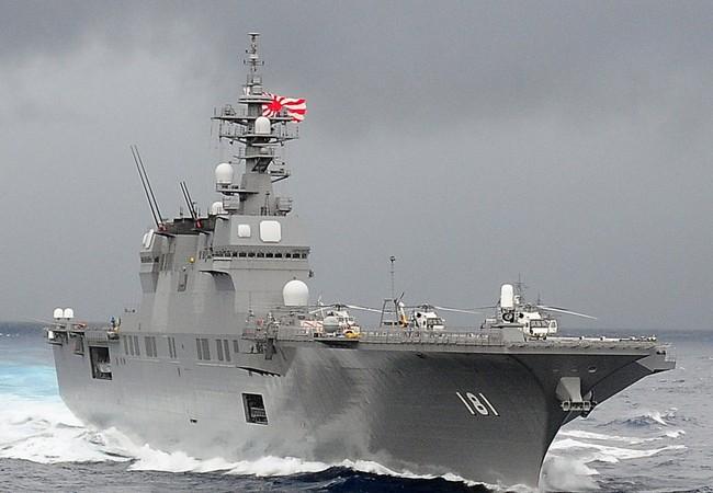 Tàu sân bay Izumo của hải quân Nhật Bản