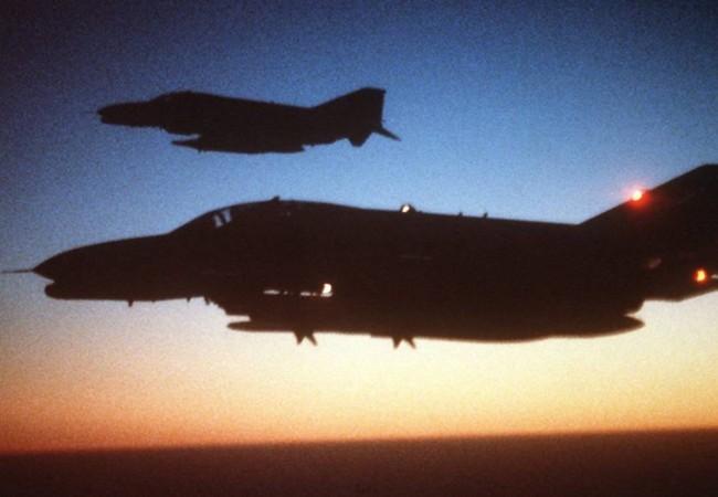 """Chiến đấu cơ F-4 """"chồn hoang"""" của Mỹ"""
