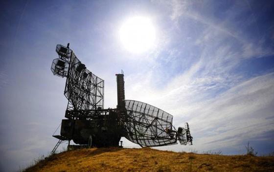 Ukraine chế tạo radar chống Kalibr và Tomahawk. Ảnh: Một trạm radar phòng không (Tass)