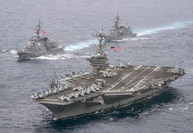 Mỹ điều động thêm cụm tác chiến tàu sân bay thứ ba tới răn đe Triều Tiên