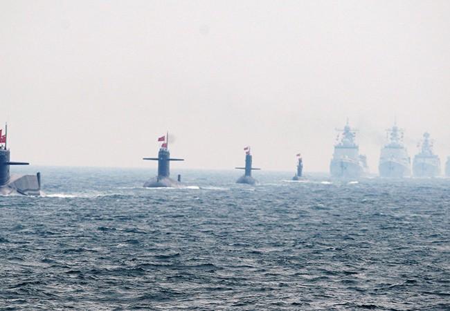 Hải quân Trung Quốc ngày càng vươn xa khỏi bờ biển nước này