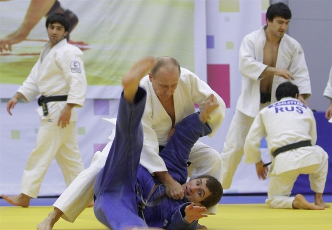 Tổng thống Putin thực sự là một cao thủ theo cả nghĩa đen và nghĩa bóng