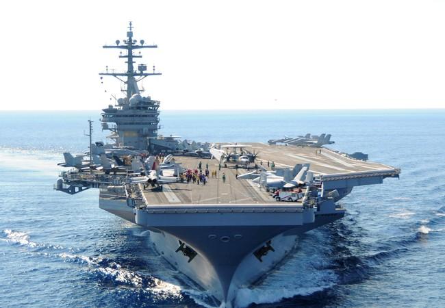 Tàu sân bay của hải quân Mỹ