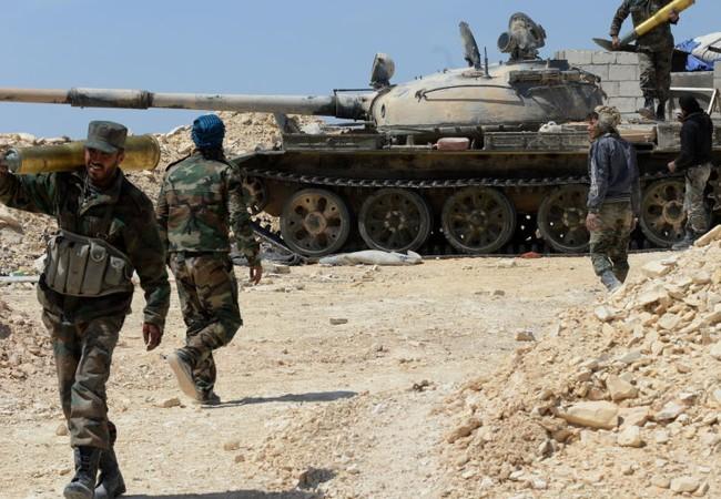 Quân đội Syria đang gặt hái những chiến quả mới