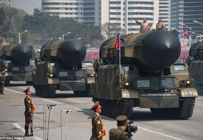 Tên lửa đạn đạo liên lục địa của Triều Tiên