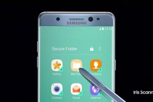 Tính năng dành cho doanh nghiệp trên Galaxy Note 7