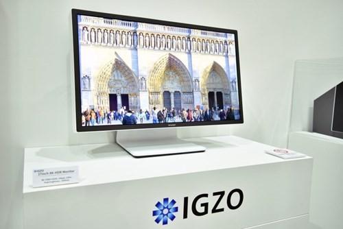 Màn hình IGZO 8K, hỗ trợ HDR kích thước 27 inch mới của Sharp.