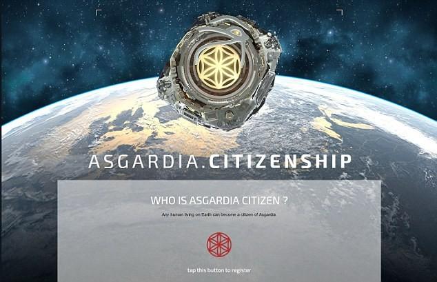 Kế hoạch thiết lập quốc gia ngoài không gian Asgardia