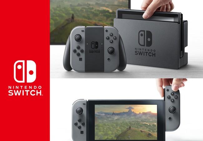 Nintendo Switch: máy chơi game console kết hợp handheld